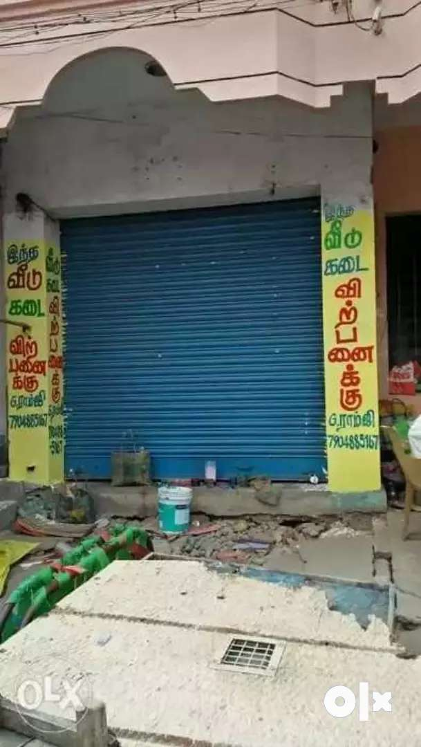 Tiruvannamalai big temple opp shop and office for sale 0