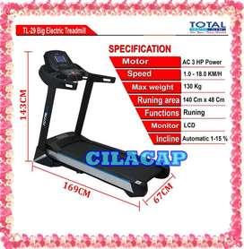 Treadmill Elektrik TL 29 AC Komersial murah