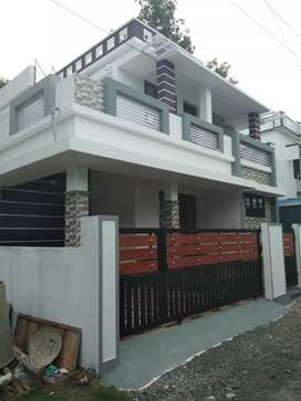 3 bhk 1300 sqft 3 cent new build house at aluva near muppathadam