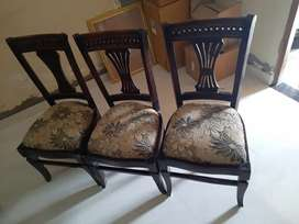 Dining table chairs (6 chairs)