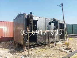 prefabricated homes Containers office porta cabin mobile toilets///