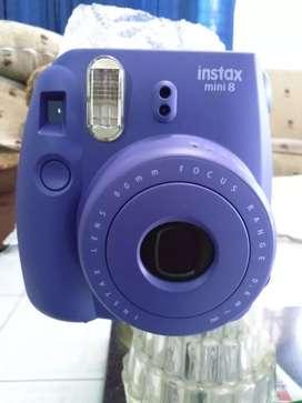 Kamera Palaroid Instax Mini 8 Fujifilm Grape