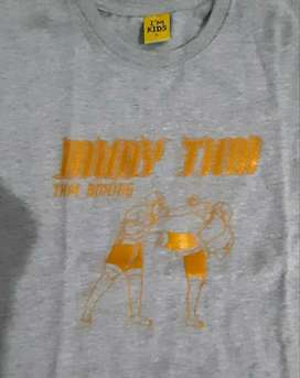 Murah - 2 Pieces - Kaos Anak Muay Thai Size L