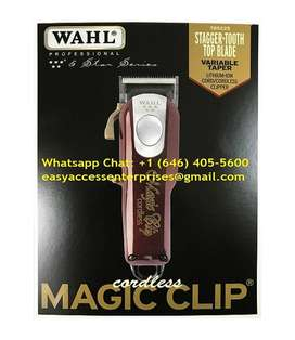 Professional Wahl 5 Star Cordless Magic Clip Hair Clippers