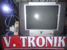 "Tv akira 21"" (gratis antar+bergaransi+antena+remot)"
