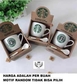 Cangkir Keramik Starbucks Gift Set Ceramic Mug Starbucks ID93