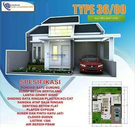 Rumah Murah KPR Syariah TANPA BANK DP NOL Dekat Kota Wonosari Jogja