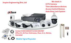 Hikvision CCTV/ dahua 1mp, 2mp/IP / CCTV camera/time attendance system