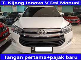 Toyota Kijang Innova 2.4 V Diesel Manual 2017 kondisi terawat