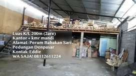 DiSEWAkan Gudang Pulau Belitung Pedungan Denpasar Warehouse for RENT