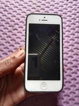 iPhone 5 kondisi layar terkunci