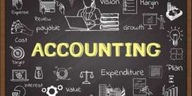 Accountant for billing and bank work