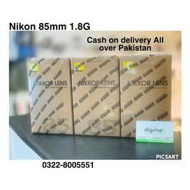 Nikon 85mm 1.8G box Packed with warranty