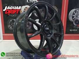Velg Mobil HSR R16 INDY Ring 16 Lebar 7 Pcd 4X100 & 4x114,3 Agya Ayla