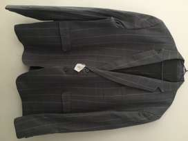Grey wedding coat and pant for sale