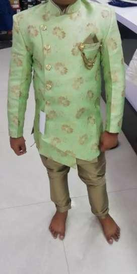 Indo western style sherwani