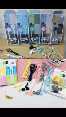 Headset iphone warna Super Bass
