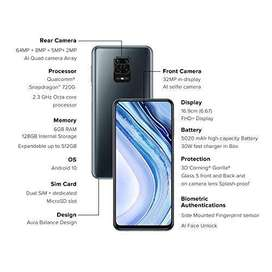 REDMI NOTE 9 PRO MAX 6-128, BLUE COLOUR