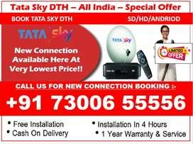 New Diwali damka Tata sky HD box 1 month free full installation AIRTEL