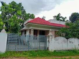 Single house with compound wall at kannikara