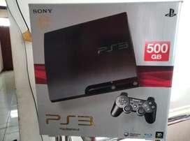 PS 3 Slim spek Dewa Hdd 500 GB Lkp 50 Game 2 Stik mulpis