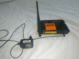Dlink modem 2730U sparingly used in good condition