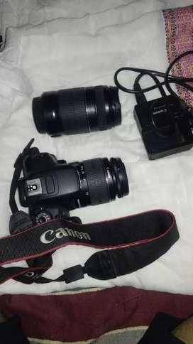 Canon EOS 700d 2 lences