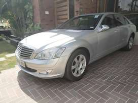 Mercedes-Benz S-Class 2009 well maintained