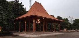 Jual Spesial Pendopo Dan Rumah Joglo Bahan Kayu Jati