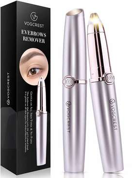 Mini Electric Eyebrow Trimmer Lipstick Brows Pen Hair Remover Painless