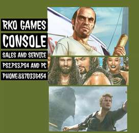 RKO GAMES CONSOLE ,SALES AND SERVICES