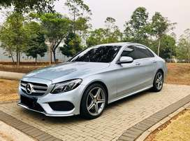 Mercedes Benz C250 AMG 2015 Full Option warranty ISP ON