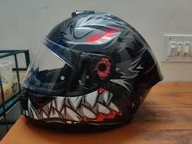 MT Hummer Lycan Gloss Helmet