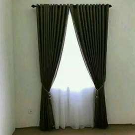 Gordyn Hordeng Curtain Gratis Pemasangan Korden Gordeng Gorden a0072