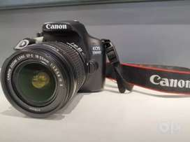 Canon 1300D with 18-55 lens