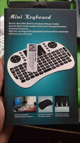 Mini wireless keyboard untuk laptop,smart tv, dll