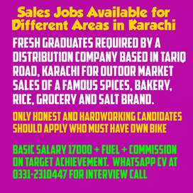 Fresh Graduates Required for Market Sales of Famous Spices Brand