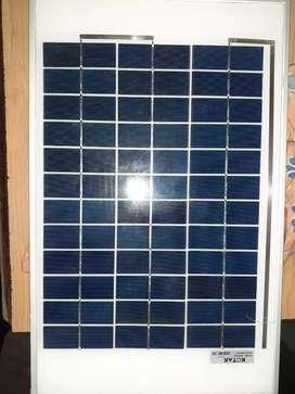 Solar panel 12W/12V New