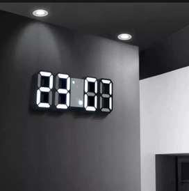 Jam Digital Tampilan Nomor