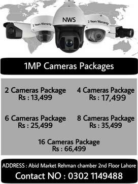 dahua and Hikvision cameras With 2 years warranty
