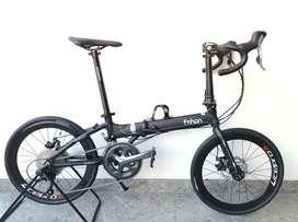 Jual sepeda lipat road bike FnHon
