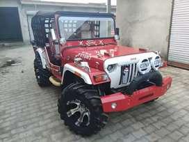 nshar modified jeep