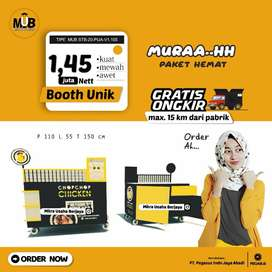 Booth Unik I Booth Lipat I Booth Kontainer