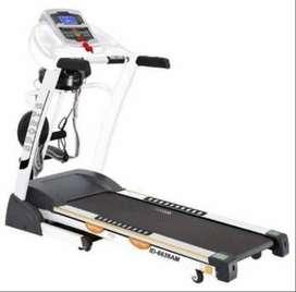 Treadmill Elektrik terbaru  4 fungsi SHQ 6638am