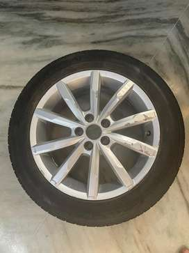 VW POLO OEM wheel with tyre 195/55 R16