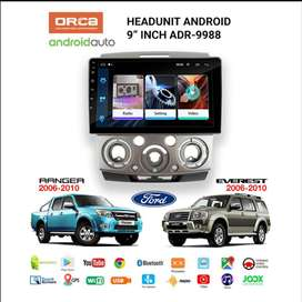 ANDROID ORCA ADR-1088 9INCH  RANGER & EVEREST 2006-2010