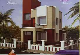 3BHK Independent Row house on 1000sqft land at lohegaon for 45Lakhs.