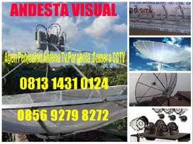 parabola digital mini free + terima pasang antena tv