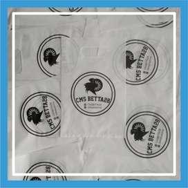 Sablon Tas Plastik Ziplock Plong -BACA DESKRIPSI- Kediri  Kab. 101595
