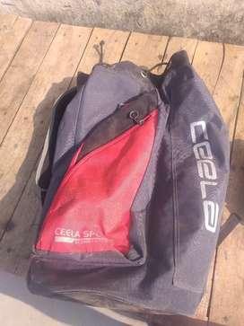Cricket kit bag+ SG batting pad